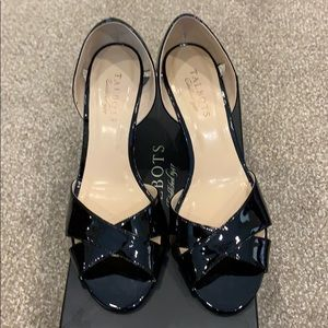 Talbots wedge patent leather Shoes.